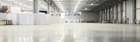 aménagement d'espaces industriels
