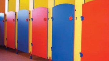 Cloisons et portes Toilettes