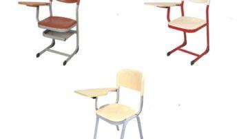 Mobilier Scolaire : Chaise avec tablette